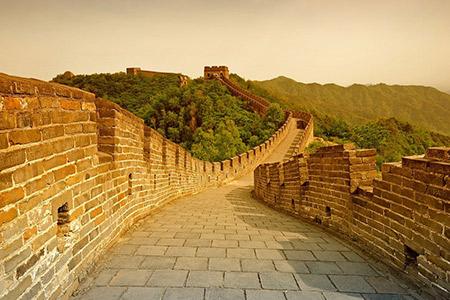 Balade sur la grande muraille de Chine