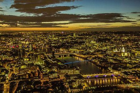 Nuit dorée sur Londres