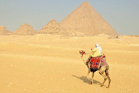 Voyage dans le désert Egyptien