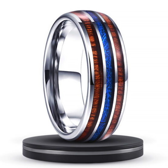 alézan-bijoux-anneau-titane-argent-independant-collection-titanium-ligne-bleue-fibre-de-carbone-8mm