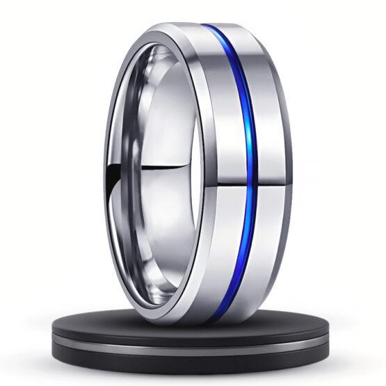 angélite-anneau-8mm-en-carbure-de-tungstene-avec-ligne-bleu-nuit-couleur-titane