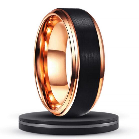aniline-bijoux-homme-anneau-bague-or-gold-carbure-de-tungstene-couleur-noire-carbone
