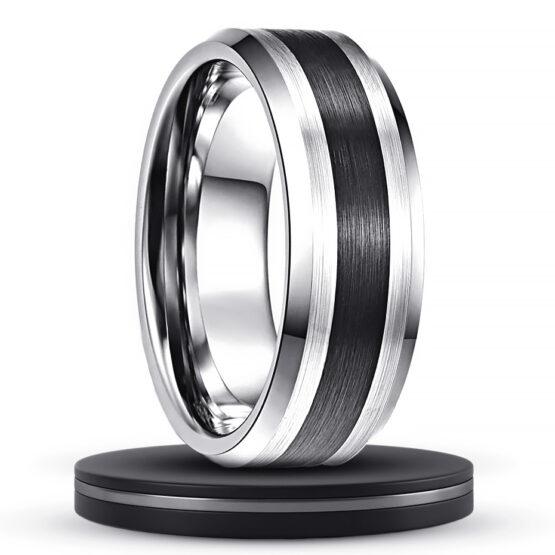 le-platine-bijoux-anneau-8mm-couleur-argent-titane-en-carbure-de-tungstene-avec-centre-noir-couleur-carbone-mode