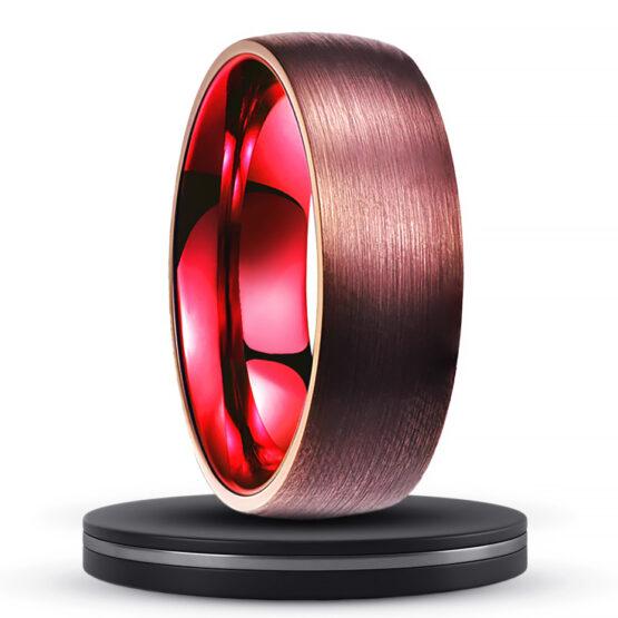 le-vénitien-bijoux-homme-anneau-bague-design-carbure-deu-tungstene-rouge-ruby-titane-poli