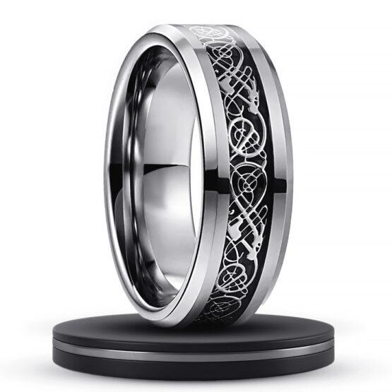 obsidienne-anneau-bague-homme-carbure-de-tungstene-dragon-game-of-thrones