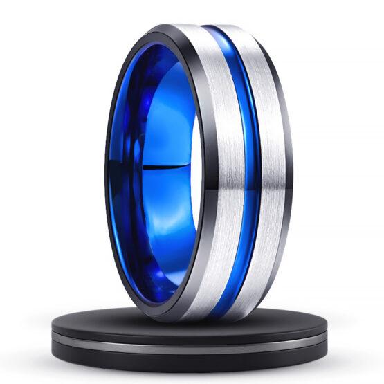 outremer-bijou-anneau-8mm-couleur-bleu-et-titane-en-carbure-de-tungstene-ligne-bleu-style-classique-collection-azur