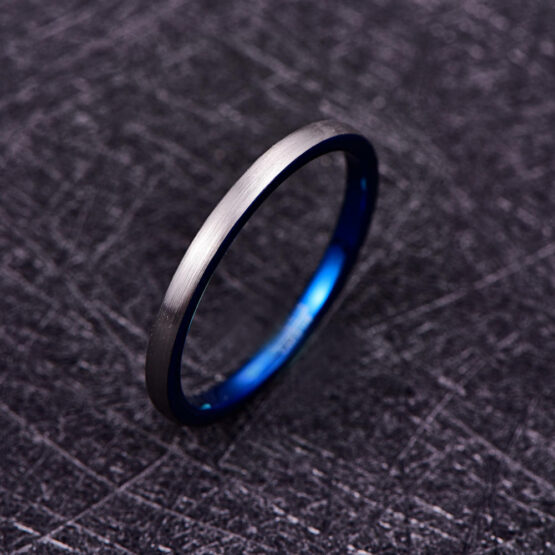 artem-anneau-homme-carbure-de-tungstène-argent-bleu-2