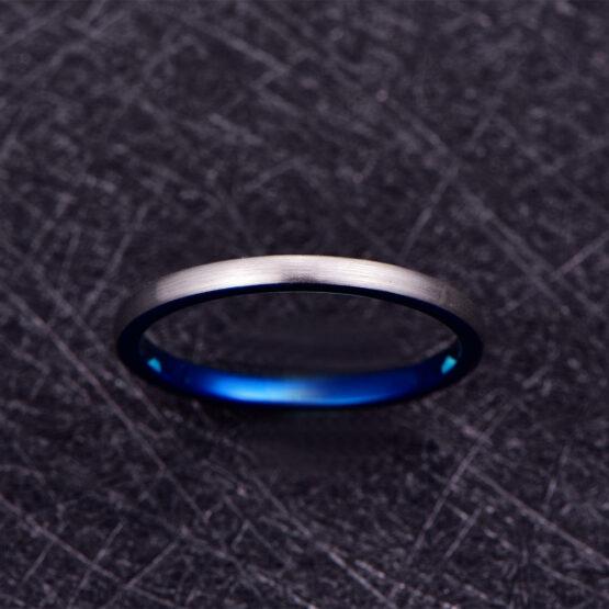 artem-anneau-homme-carbure-de-tungstène-argent-bleu-3